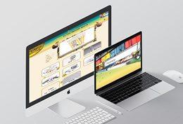 Targ Apicol - website layout