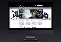 Herlea Sport - website layout