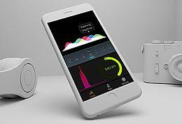 Mobile phone app.